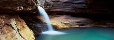 Reagan's Pool, Hancock Gorge - Western Australia - photo by Tim Wrate