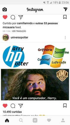 You're a computer, Harry Harry Potter Jk Rowling, Hp Harry Potter, Hogwarts, Tattoo Studio, Rainbow Rowell, Fandom Memes, Top Memes, Draco Malfoy, Wtf Funny
