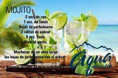 @Regrann from @aquainsular -  Nada como un #Mojito para refrescarnos en estos días de semana santa.  #AquaReceta #aquainsular #isladeMargarita #agua #bebidas #cócteles #vacaciones