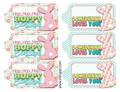 Free easter gift tag label printable art and crafts pinterest easter gift tags to help wrap it pretty negle Image collections