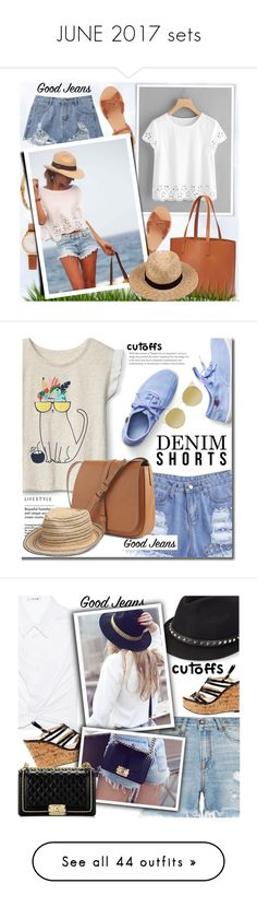 """""""JUNE 2017 sets"""" by shoaleh-nia ❤ liked on Polyvore featuring Ancient Greek Sandals, Old Navy, Olivia Burton, Kenneth Jay Lane, Lack of Color, Gap, Quay, T By Alexander Wang, Valentino and R13"""