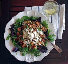 Podzimní Quinoa s Dýní, Tempehem a Cizrnou | Veganotic