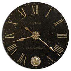 "Howard Miller Oversized 32"" London Night Wall Clock & Reviews | Wayfair"