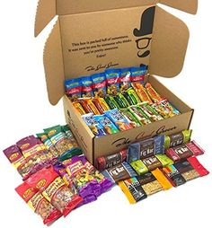 Healthy Bars and Nuts Care Package (50 Count) by The Good Grocer - Variety Pack, Office Snacks, School Lunches >>> Learn more by visiting the image link. (This is an affiliate link) #healthysnackpackage