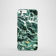 """Jade"" / feature Superb Stylish Green marble stone printed iPhone cover. #green #marble #case #paletto"