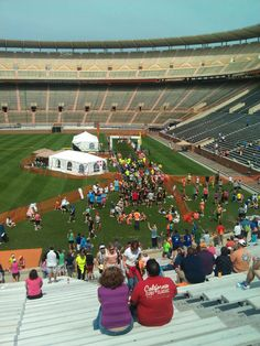 Finish to Coventant Health 5k in Knoxville, TN