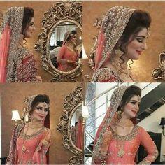 Wedding Lehnga, Pakistani Wedding Outfits, Pakistani Wedding Dresses, Pakistan Bride, Pakistan Wedding, Bridal Makeover, Indian Bridal Fashion, Bridal Photoshoot, Asian Bride