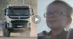 Poderá Uma Menina De 4 Anos Conduzir Um Camião De 18 Toneladas?