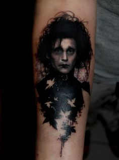 "I found this on a list of ""scary tattoos"" at xaxor.com, but I beg to differ. This is one of the most stunningly beautiful tattoos I have ever seen. It's so delicate. I love it. (for the curious: se..."