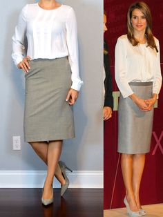 outfit post: white long sleeved blouse, grey pencil skirt http://outfitposts.com/2016/06/outfit-post-white-long-sleeved-blouse-grey-pencil-skirt.html?utm_campaign=coschedule&utm_source=pinterest&utm_medium=Outfit%20Posts&utm_content=outfit%20post%3A%20white%20long%20sleeved%20blouse%2C%20grey%20pencil%20skirt