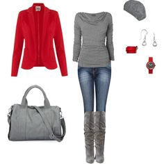 """""""red and gray"""""""