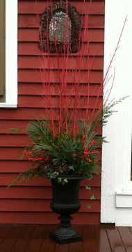Outdoor Decor - page 4 Outdoor Christmas Planters, Outdoor Planters, Outdoor Christmas Decorations, Outdoor Decor, Coastal Christmas Decor, Christmas Porch, Holiday Decor, Garden Urns, Garden Planters