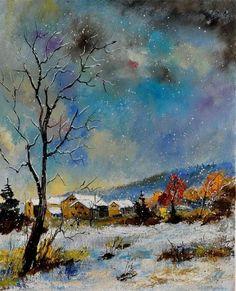 Pol Ledent, winter.