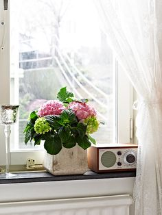Flowers Kitchen Window Decor Sill Door And Design Creative