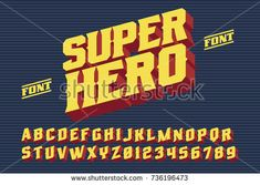 Image result for super heroes typeface