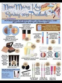 Look what is coming soon!! New product from Mary Kay. So excited to try out all the new colors and the CC Cream!!