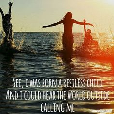 -- #LyricArt for Second Child, Restless Child by The Oh Hellos