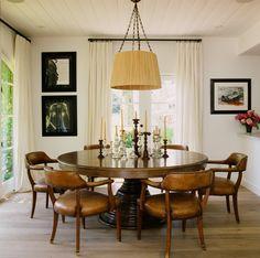 Средиземноморская Столовая в Малибу, Калифорния Мартином Лоуренсом Буллард Design