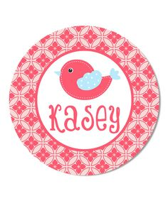 Loving this Birdie Personalized Plate on Color Me Mine, Personalized Plates, Beach Mat, Decorative Plates, Outdoor Blanket, Create, Home Decor, Decoration Home, Room Decor