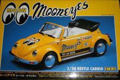"""Imai """"Moon Eyes"""" - IMAI VW Beetle Cabrio """"MOON EYES"""" motorized. And Christmas is in a month! Model Kit #530916 - Scale: 1:24"""