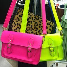 Neon satchels