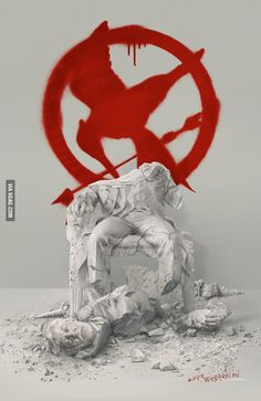 "New poster for ""The Hunger Games: Mockingjay - Part 2"""