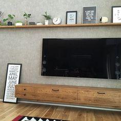 Tv Wall Design, Web Design, House Design, Tv Decor, Diy Room Decor, Home Decor, Tv Unit Furniture Design, Living Room Entertainment Center, Design Typography