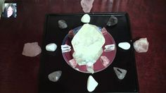 Mirror Healing Crystal Grid