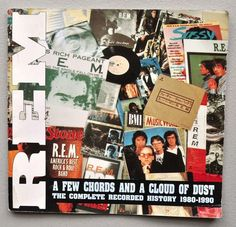 "R.E.M. ""A Few Chords & A Cloud of Dust"" Book, Complete Recorded History 1980-1990"