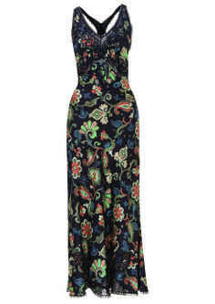 Strappy Paisley Sundress, $130: Kate Moss for Topshop | Boca Raton Magazine
