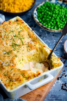 Nothing beats a creamy fish pie for some hearty comfort food. My award-winning fish pie is always on our recipe rotation at home. Healthy Pie Recipes, Prawn Recipes, Seafood Recipes, Cooking Recipes, Seafood Pie Recipe, Healthy Meals, Creamy Fish Pie, Creamy Tuna Pasta, Fish Recipes For Babies