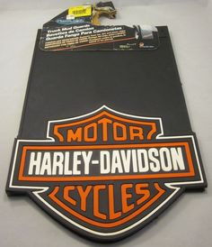 Some great truck mud guards/flaps from PlastiColor. With the all american Harley Davidson bar and shield logo! And they were Made In The USA! #PlastiColor