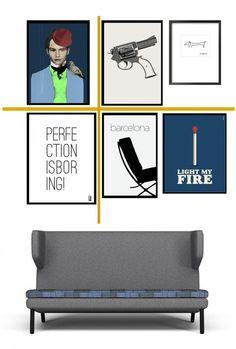 Billedevæggens gyldne snit - (How to) | BoligciousBoligcious