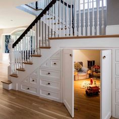 21 Ideas Basement Storage With Doors Under Stairs Understairs Storage basement Ideas Basement Storage With Doors Under Stairs Understairs Storage basement d.basement doors ideas stairs storage understairsSecret Rooms: 10 Special Spaces Hidden from Sight Staircase Storage, Staircase Design, Basement Storage, Grand Staircase, Closet Storage, Staircase Decoration, Modern Staircase, Office Storage, Stairs With Storage