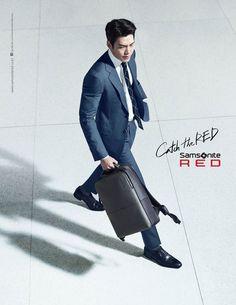Kim Woo Bin is smart and dandy in 'Samsonite Red' pictures Korean Celebrities, Korean Actors, Uncontrollably Fond, 2011 Movies, Kdrama Memes, Red Pictures, Man Crush Everyday, Kim Woo Bin, Handsome Actors