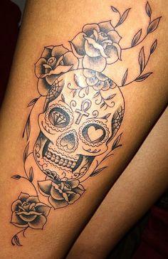 Skull Tattoo!
