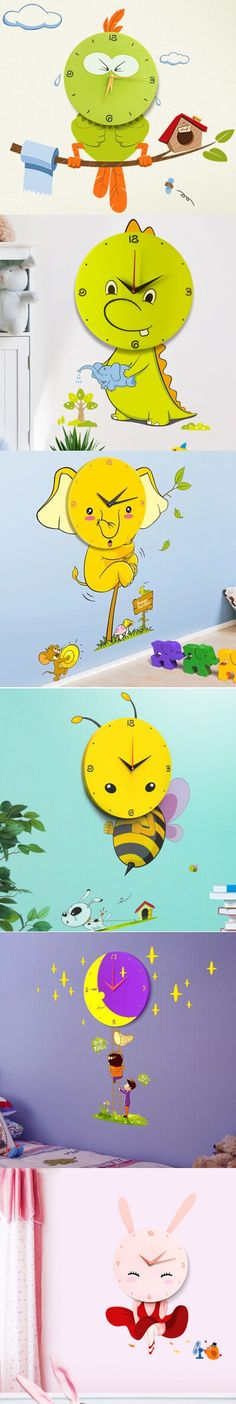 Removable Wall Sticker Wall Clock Diy Craft Home Decoration $28.88