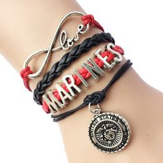 Marines Wrap Bracelet
