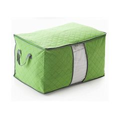 Generic Quilts Clothing Storage Box Color Green Size M QIANGSEN Http://www.
