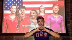 ザック・エフロンが体操女子の金メダリスト、シモーネ・バイル選手を応援!