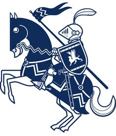 Knight Wall Decal - Baby & Kids Wall Decals E-Glue - Children Room Wall Decor