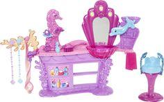 barbie hair salon set   Barbie, Mermaid Salon Playset