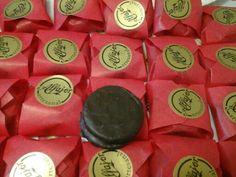 Alfajores chocolate manjar