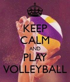 VOLLEYBALL! Got my first game of the season tomorrow:D