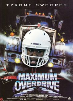 Tyrone Swoopes is taking the Texas Longhorns 18-wheeler package on the road to Cal this week. #tyrone #swoopes #hookem #texas #longhorns #football #maximum #overdrive