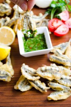How To Fry Anchovies - Give Recipe