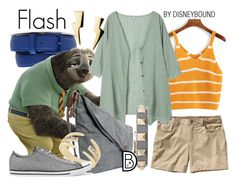 """""""Flash"""" by leslieakay ❤ liked on Polyvore featuring Lacoste, Patagonia, BCBGeneration, Converse, Valentino, disney, disneybound and disneycharacter"""