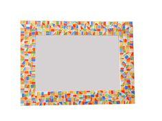 Colorful Mosaic Mirror Mirror Mosaic, Glass Mosaic Tiles, Lego Bathroom, Bathroom Mirrors, Green Wall Mirrors, Green Street, Oval Mirror, Handmade Decorations, White Paints