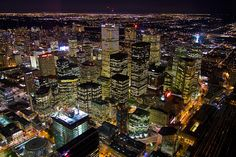 North America's third largest city has grown from 13 skyscrapers to more than 50 in only 30 years!