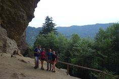 Alum cave trail! A great hike!! It has amazing views..